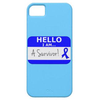 Cáncer rectal hola soy un superviviente iPhone 5 protector