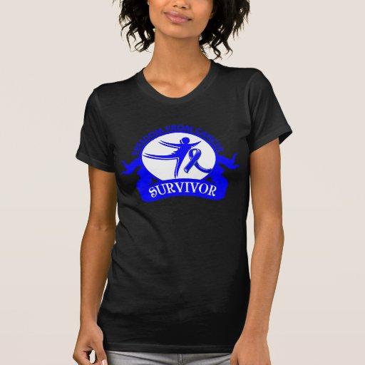 Cáncer rectal - libertad del superviviente del cán camiseta