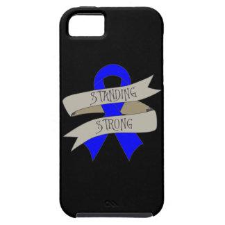 Cáncer rectal que se coloca fuerte iPhone 5 Case-Mate cárcasa