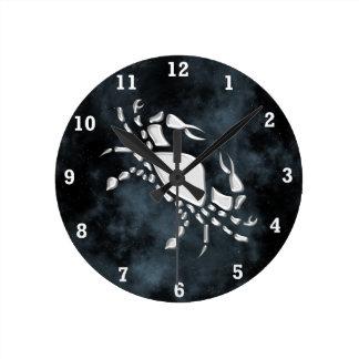 Cáncer Reloj Redondo Mediano