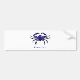 Cancer Sign Bumper Sticker