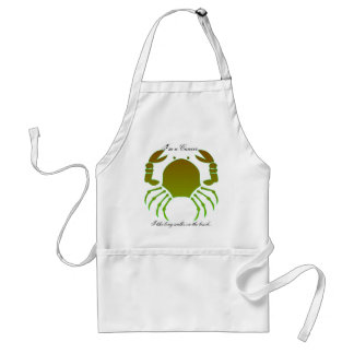 Cancer Silhouette Apron