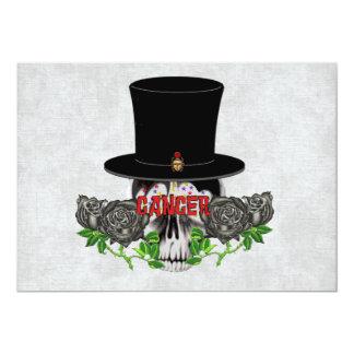 Cancer Skull Card