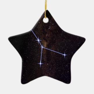 Cancer Star Sign Ceramic Ornament