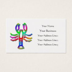 Cancer  Star Sign Rainbow Color Pearl Business Card at Zazzle
