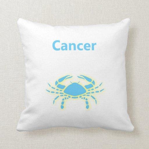 cancer star sign zodiac sign june 21 july 22 pillow zazzle. Black Bedroom Furniture Sets. Home Design Ideas