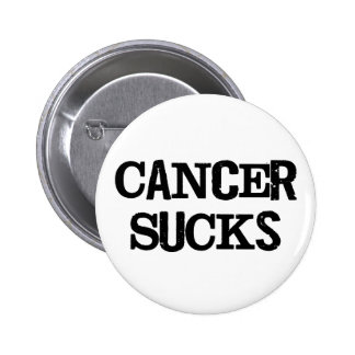 Cancer Sucks 2 Inch Round Button