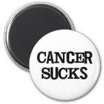 Cancer Sucks 2 Inch Round Magnet