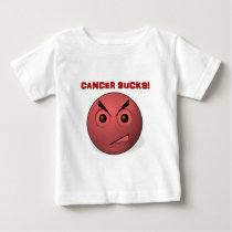 Cancer Sucks! Baby T-Shirt