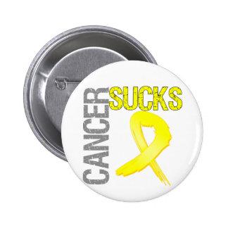 Cancer Sucks - Bladder Cancer Pin