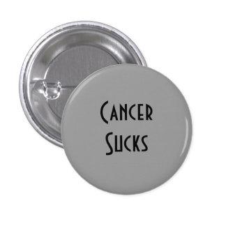 Cancer Sucks: Brain Cancer Pinback Button