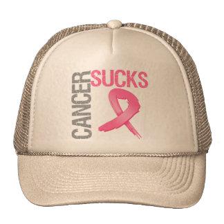 Cancer Sucks - Breast Cancer Trucker Hat