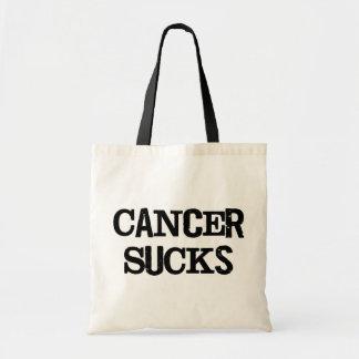 Cancer Sucks Budget Tote Bag