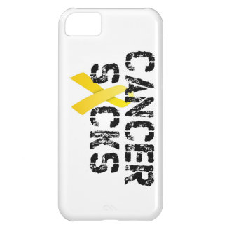 Cancer Sucks - Childhood Cancer Ribbon Cover For iPhone 5C