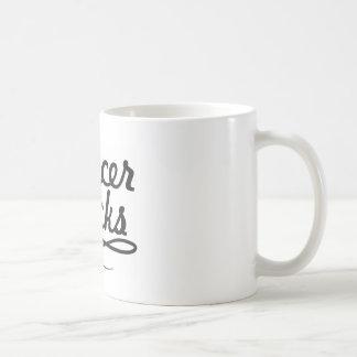 Cancer sucks coffee mug