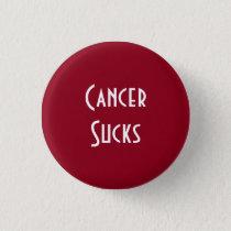 Cancer Sucks: Head/Neck, Multiple Myeloma Cancer Pinback Button