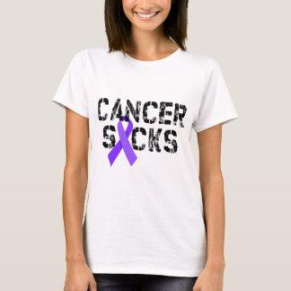 Cancer Sucks - Hodgkin's Lymphoma Cancer Ribbon T-Shirt