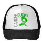 Cancer Sucks - Kidney Cancer Trucker Hat