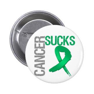 Cancer Sucks - Liver Cancer Pin