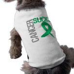 Cancer Sucks - Liver Cancer Pet T Shirt
