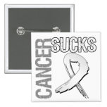 Cancer Sucks - Lung Cancer Button
