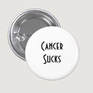 Cancer Sucks: Lung Cancer Button