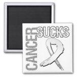 Cancer Sucks - Lung Cancer Refrigerator Magnets
