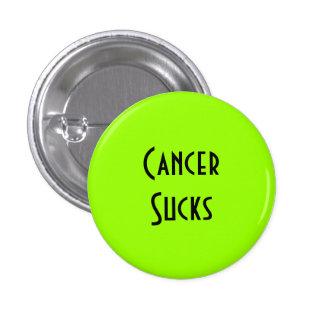 Cancer Sucks: Lymphoma Cancer Pinback Button