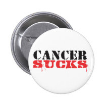 Cancer Sucks Pinback Button