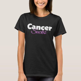 Cancer Sucks Pink Version 2 T-Shirt