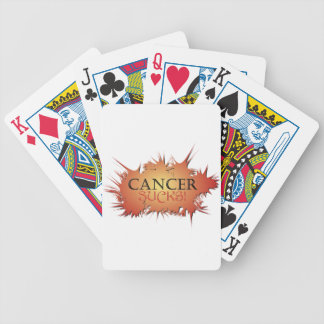 Cancer Sucks Playing Cards