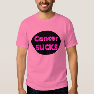 cancer sucks shirts