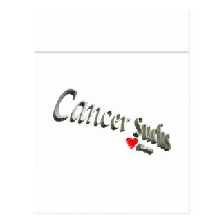 Cancer Sucks - Show Your Feelings! Postcard