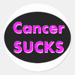 'cancer sucks' sticker