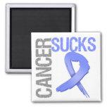 Cancer Sucks - Stomach Cancer Refrigerator Magnet