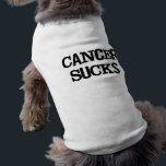 "Cancer Sucks Tee<br><div class=""desc"">See More at http://Label-Me-Happy.com</div>"