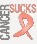 Cancer Sucks - Uterine Cancer Tee Shirts