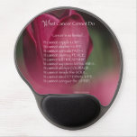 Cancer Support, What Cancer Cannot Do, Flowers Gel Mouse Pad