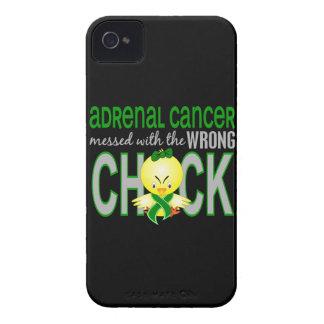 Cáncer suprarrenal ensuciado con el polluelo iPhone 4 funda