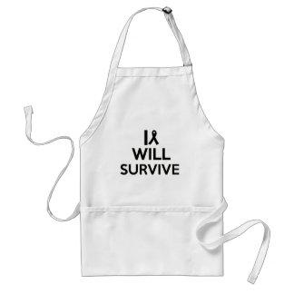 cancer survive adult apron