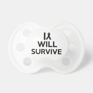 cancer survive pacifier