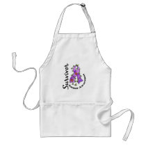 Cancer Survivor 15 Adult Apron