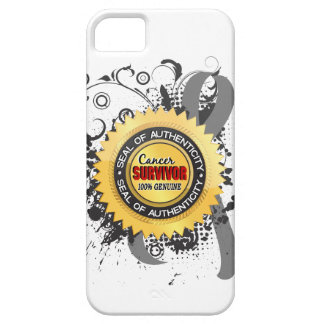Cancer Survivor 23 Brain Cancer iPhone 5 Covers