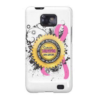 Cancer Survivor 23 Breast Cancer Samsung Galaxy S2 Case