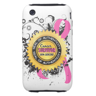 Cancer Survivor 23 Breast Cancer iPhone 3 Tough Covers