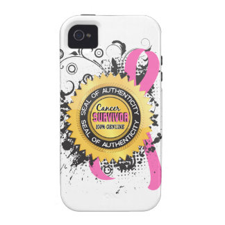 Cancer Survivor 23 Breast Cancer Case-Mate iPhone 4 Covers