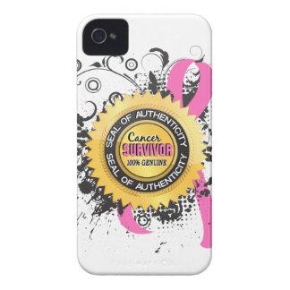 Cancer Survivor 23 Breast Cancer Case-Mate iPhone 4 Cases