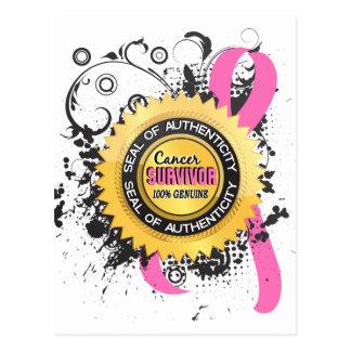 Cancer Survivor 23 Breast Cancer Post Cards