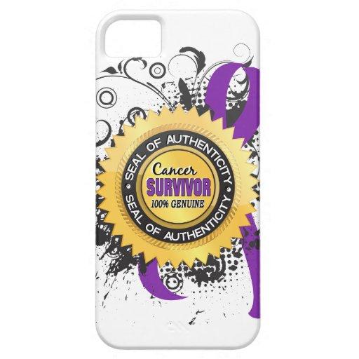 Cancer Survivor 23 Leiomyosarcoma iPhone 5 Covers