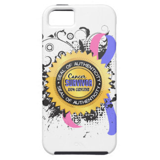 Cancer Survivor 23 Male Breast Cancer iPhone 5 Cases